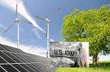 Армия США покупает 65 МВт ветровой и солнечной  энергии