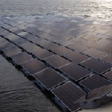 Начало работ на крупнейшей плавучей солнечной электростанции Европы