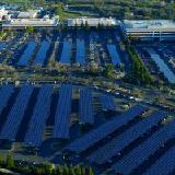 Массивная Солнечная крытая автостоянка от Intel