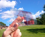 Новые, гибкие солнечные батареи толщиной всего в 1 микрометр