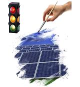 В Москве установлены первые светофоры, работающие с использованием возобновляемых источников энергии