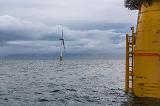 Плавучие ветровые электростанции оказались более эффективными, чем береговые