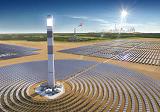 В Дубай, в солнечном парке, будет установлена самая высокая в мире энергетическая вышка