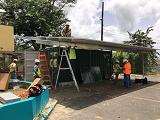 Школа Пуэрто-Рико готова к следующему урагану, благодаря решетчатой солнечной батарее SunCrate