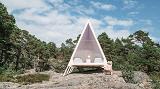 Удивительный зеркальный экодом на острове Валлисаари в Финляндии