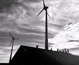 В Германии, на территории бывшей военной базой, производят энергию ветра, солнца и био отходов