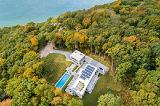 Уникальный экодом на острове Шелтер, Нью-Йорк, США