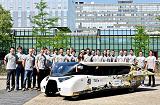 Студенты из Нидерландов создали автомобиль, который ездит на энергии солнца, с впечатляющим запасом хода