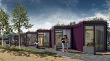 В Великобритании будет построен район с экодомами из морских контейнеров, с «зелеными» крышами