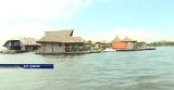 У берегов Африки создали экологический отель на необычном «пластиковом» острове