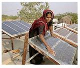 Новый метод удаления пыли на солнечных панелях