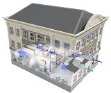 Новая система VRV IV Daikin i-серии с тепловым насосом: эффективна, но невидима для города