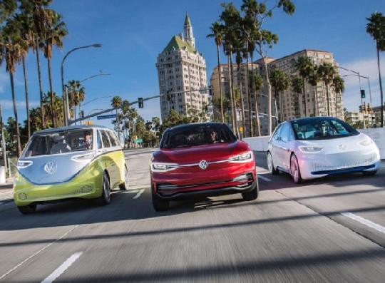 70 новых моделей электромобилей Volkswagen