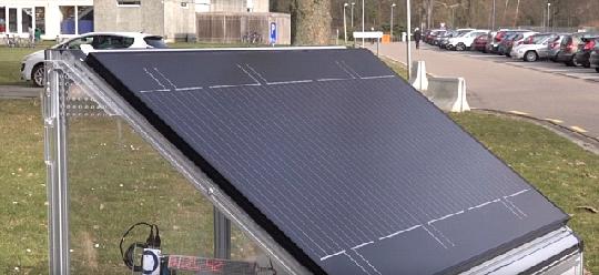 солнечно-водородные панели