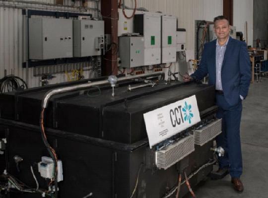 первый в мире термальный аккумулятор Thermal Energy Device