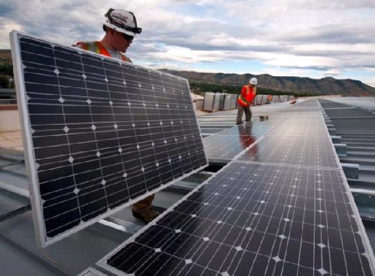 самая  большая в мире система хранения солнечной энергии