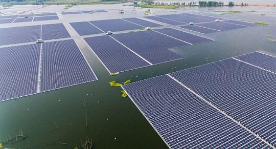 солнечная электростанция  самая большая в мире