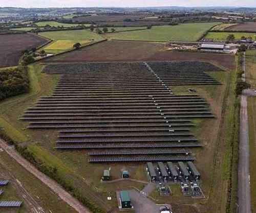 Установка солнечных панелей на сельскохозяйственных землях