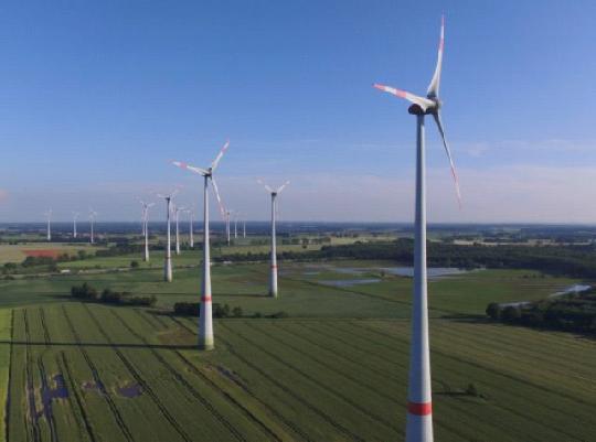 ветровые энергетические установки в Европе