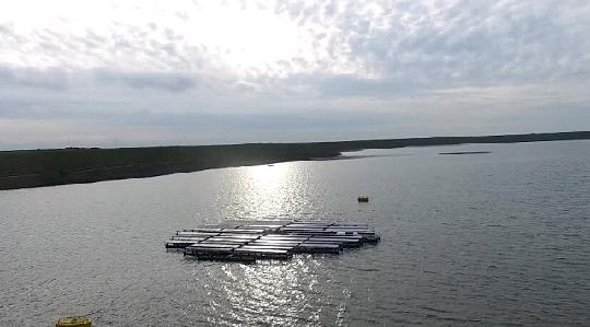 плавающие солнечные  станции