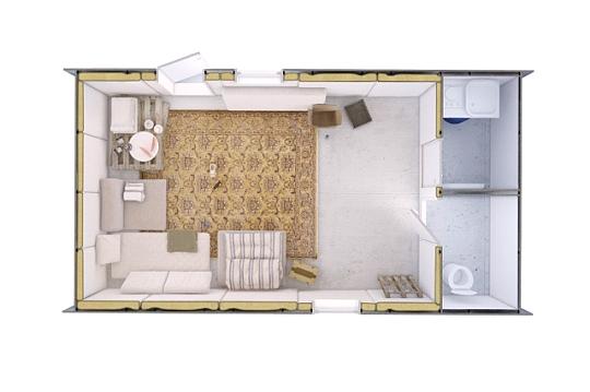 дома площадью 24 кв метра