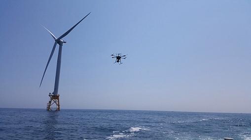 дроны для ремонта ветровых станций