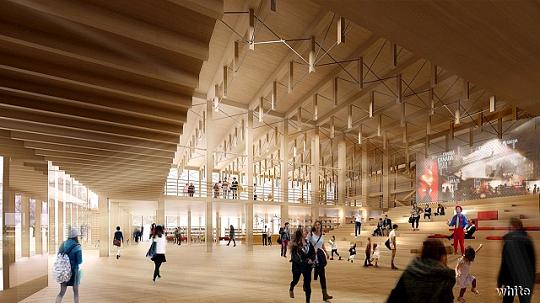 Будущий культурный центр