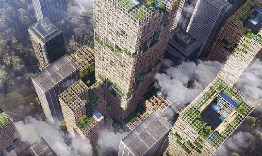 Строительство уникального деревянного экодома