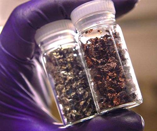 изображение литий-ионных базовых материалов